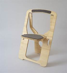Flat Pack Chair Cut From A Single Piece Of Wood [Pics] - PSFK