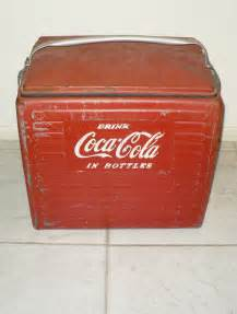 Vintage L Value by Antique Coca Cola Cooler Quot Drink Coca Cola In Bottles