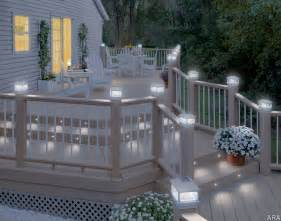 this would take care of to wrap the railing in lights much more home