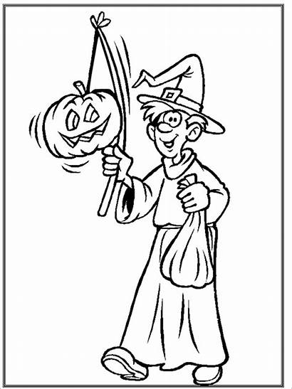 Halloween Coloring Pages Printable Pdf Template Templates