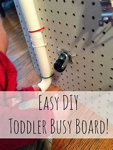 Diy, Toddler, Busy, Board