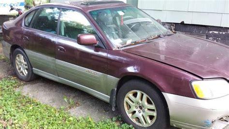maroon subaru find used 2000 subaru outback limited sedan 4 door 2 5l