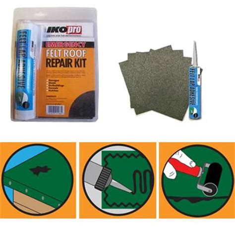 emergency felt roof repair kit roofing superstore 174