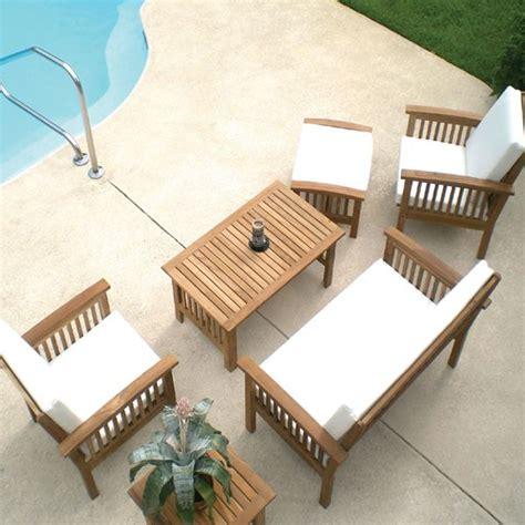 teak patio furniture doesnt require  lot  care