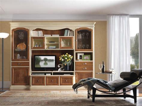 canapé convertible bicolore meuble de salon tv et bibliothèque bicolore patiné domus