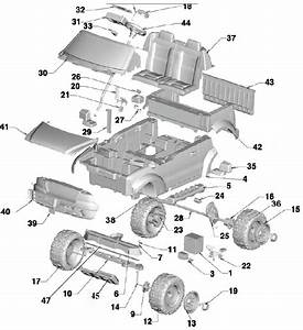 Power Wheels Ford F150 Craftsman Parts