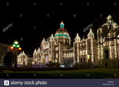 vancouver bc christmas lights victoria bc canada provincial parliament buildings with