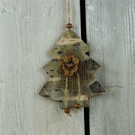 christmas tree satchville gift  shabby chic