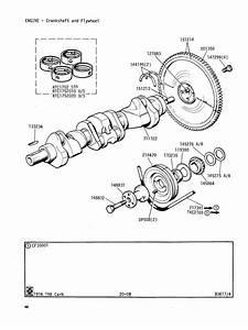 Crankshaft And Flywheel   Canley Classics