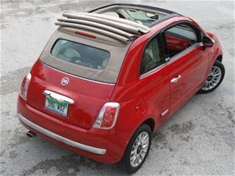 Fiat Sunroof by 2012 Fiat 500c Road Test And Review Autobytel