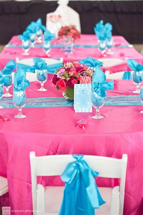 baby blue and pink wedding decorations pink blue wedding reception decor wedding decor