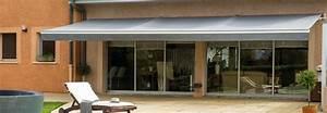 Store électrique Terrasse : store banne sur mesure terrasse et balcon monsieur store ~ Premium-room.com Idées de Décoration