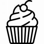 Cupcake Muffin Sweet Bakery Icon Dessert Restaurant