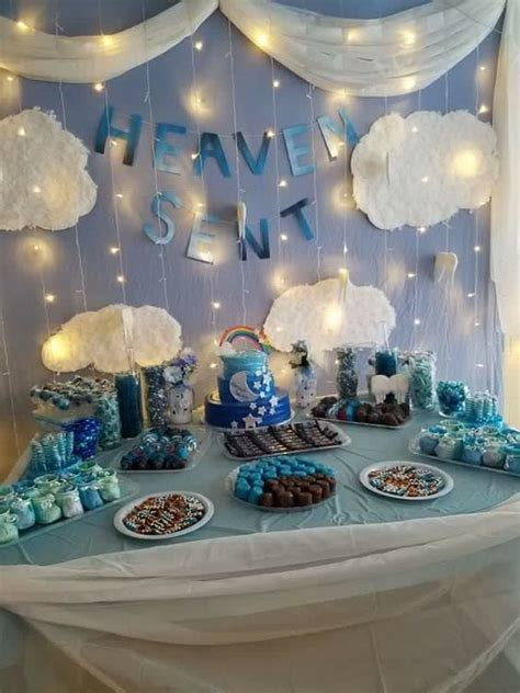 heaven themed baby shower heaven sent baby shower theme bing images
