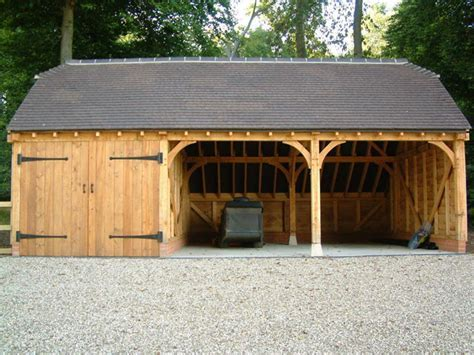 Oak Framed Garages in Oxfordshire, Hampshire, Berkshire