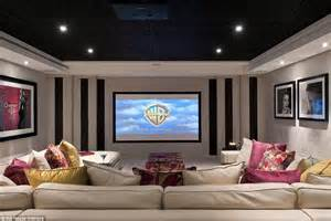 interior home pictures the cost of george and amal clooney 39 s home cinema in their 10m mansion daily mail