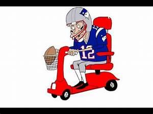 Senior Tom Brady still playing football cartoon - YouTube  Cartoon