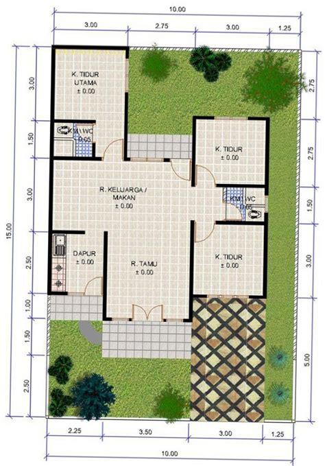 gambar desain rumah minimalis 3 kamar tidur terbaru