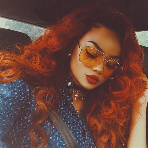 Best 25 Burnt Orange Hair Color Ideas On Pinterest