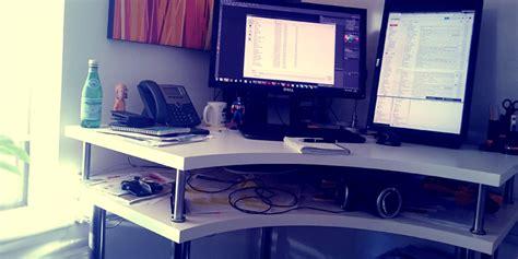 petit bureau d angle ikea hack ikea bureau assis debout d 39 angle bidouilles ikea