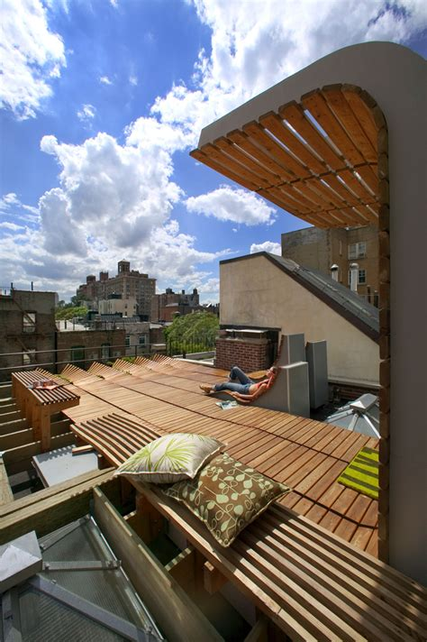 greenwich village roof garden architizer