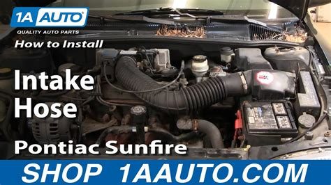 96 Cavalier Fuel Filter by How To Install Replace Intake Hose Chevy Cavalier Pontiac