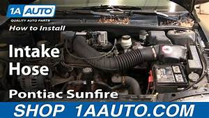 How To Install Replace Intake Hose Chevy Cavalier Pontiac Sunfire 95-97 1aauto Com