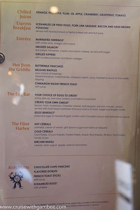 msc divina cruise ship menus msc cruises divina menus