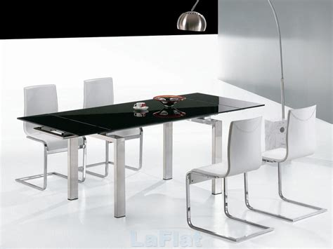 black and white table l favored black and white dining room decors with square