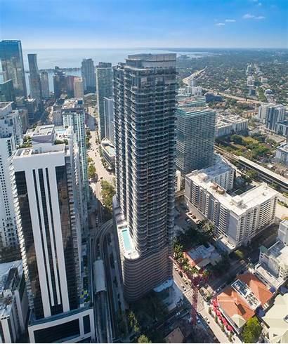 Brickell Flatiron Miami Tower Building Residential Tallest