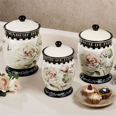 Style Kitchen Canister Sets by Marche De Fleurs Kitchen Canister Set Canisters