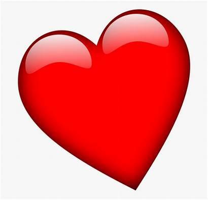 Heart Clipart Transparent Bold Slanted Cartoon Clip