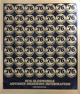 1976 Olds Starfire 4 Cylinder Original Service Manual