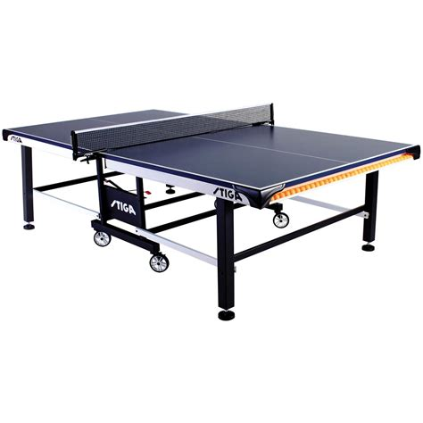 cheap ping pong tables stiga sts520 table tennis table 293859 at sportsman 39 s guide