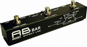Moen A  B Bar Effects Loop Pedal Switcher  Router Space