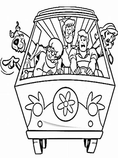 Scooby Doo Coloring Pages Printable Christmas Colouring