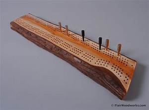 Cribbage Board #15 Flair Woodworks