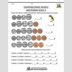 Money Worksheets For Kids 2nd Grade