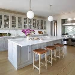 Kitchen Island Countertop Overhang Simplicity Kitchen Countertops Gray Kitchens And Cabinets