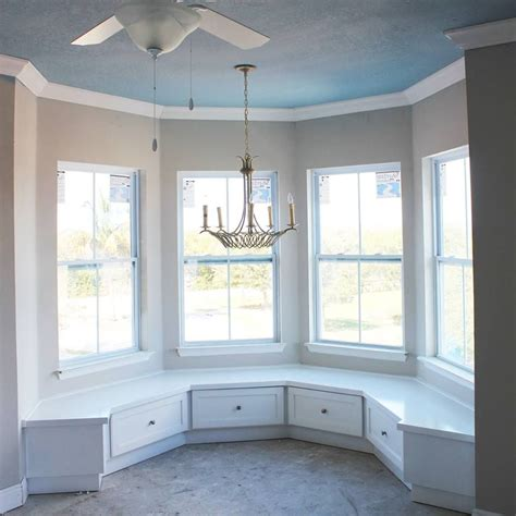Kitchen Nook by Custom Built In Benches Kitchen Nook Curved Bump Out
