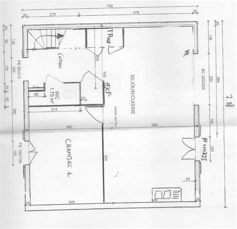 plan cuisine ouverte photo plan modifié cuisine ouverte sur séjour et