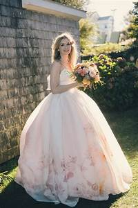 bridal gowns simply perfect for a spring wedding chic With flower wedding dress