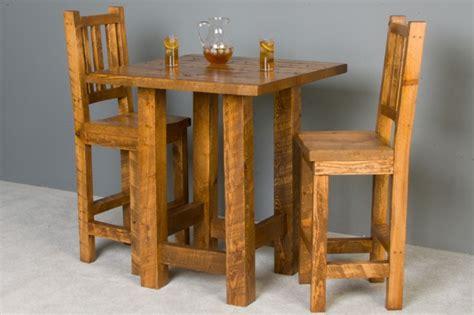 pub table 2 x 4 interior improvement rustic