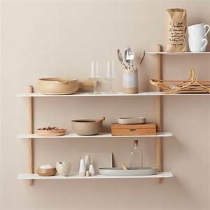 Wandregal Küche Weiß : nivo wandregal von gejst ~ Watch28wear.com Haus und Dekorationen