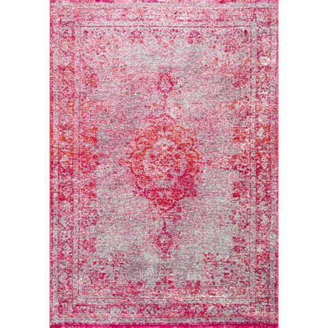 pink area rugs mistana padilla pink area rug reviews wayfair