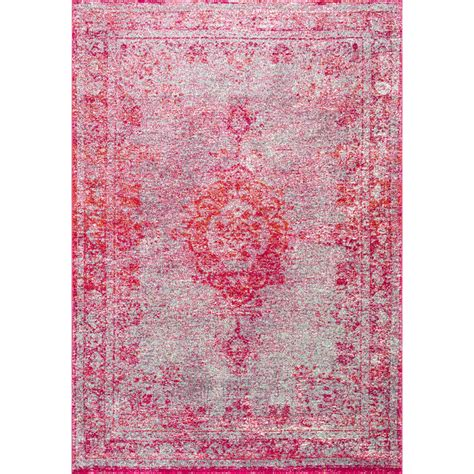 Mistana Padilla Pink Area Rug & Reviews  Wayfair. Chairs For Dorm Rooms. Wall Decor Art. Bathroom Decor For Kids. Cheap Dining Room Sets Under 100. Space Saving Beds For Small Rooms. Tiki Hut Decorations. Dorm Room Dresser. Rugs In Living Room