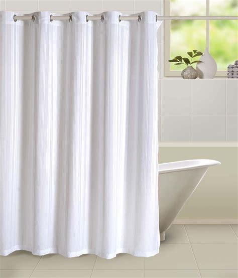 swayam white polyester shower curtain buy swayam white