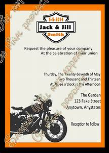 harley davidson wedding invitations harley biker wedding With harley davidson wedding invitations free