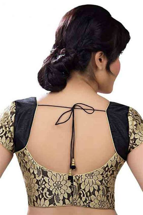 indian saree blouse designs 2019 front and back styles fashioneven