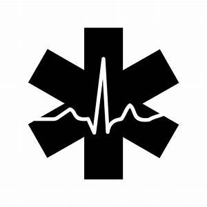 EMT Cardiac Nurse Emergency Medical graphics by vectordesign on Zibbet